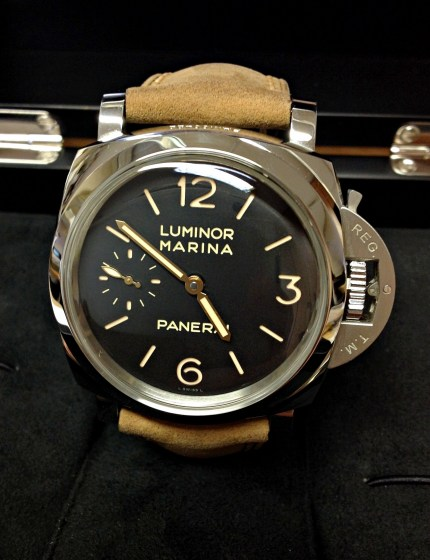 Panerai replica Luminor 1950 PAM00422 3 Days 47mm-4