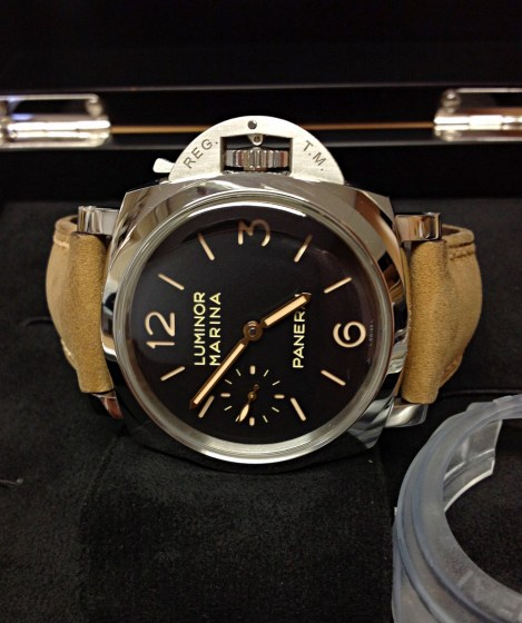 Panerai replica Luminor 1950 PAM00422 3 Days 47mm-7