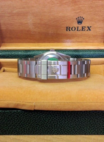 Rolex replica Explorer I 114270 36mm Black Dial6